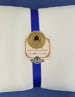 Medium 550 Fill Power Embroidered Logo- Dark Blue