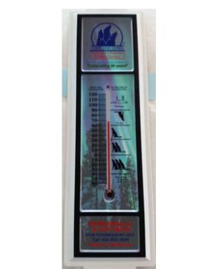 Three Dog Down Thermometer